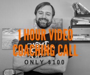 Only $100 for a one hour coaching call, click here