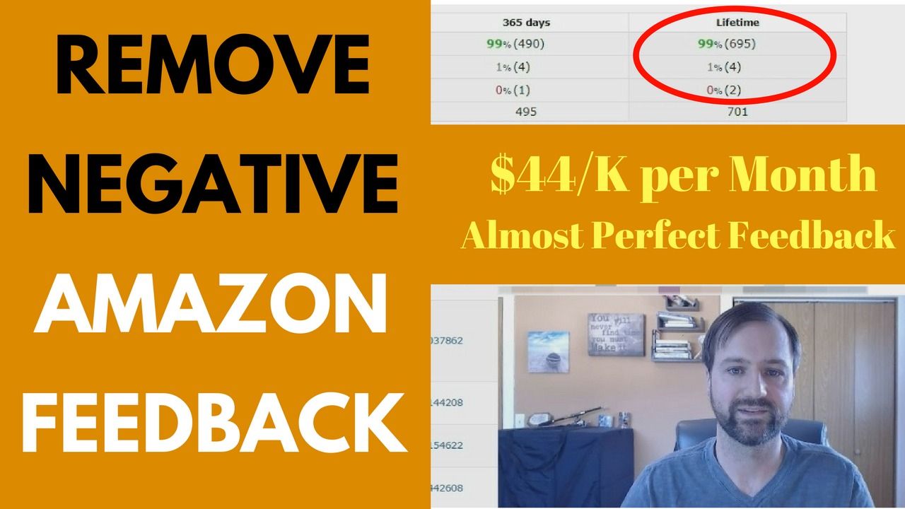 How to Remove Negative Feedback on Amazon as a Seller 2018