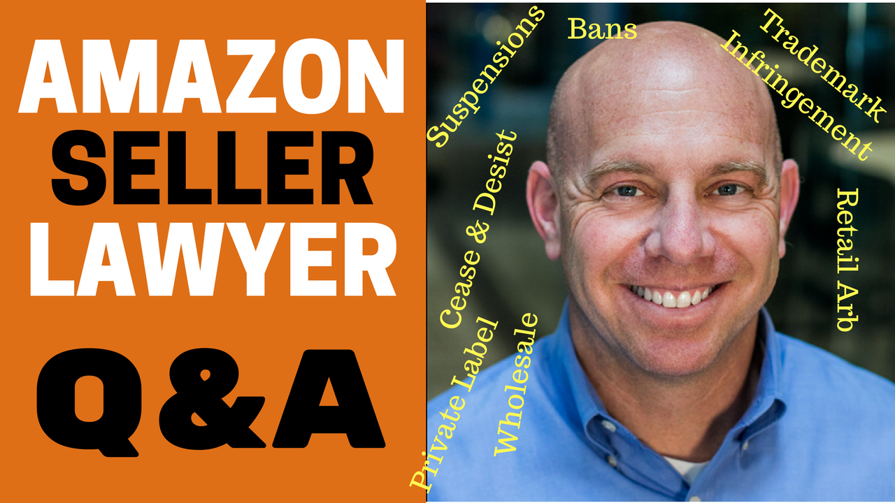 Amazon Seller Lawyer CJ Rosenbaum Q&A, Suspensions, Bans, Private Label, Wholesale, Retail Arbitrage