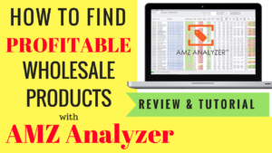 How To Use AMZ Analyzer to Find & Narrow Down Profitable Wholesale Products, Sell on Amazon, Review