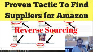 Amazon Wholesale Reverse Sourcing, How to Find Suppliers, Distributors, Manufacturers for FBA