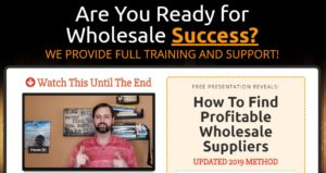 FREE WEBINAR: How to Find Profitable Amazon Wholesale Suppliers Webinar Registration | Entrepreneur Adventure