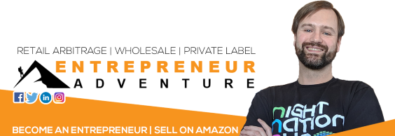 Entrepreneur Adventure Amazon Seller Help Link Tree Banner