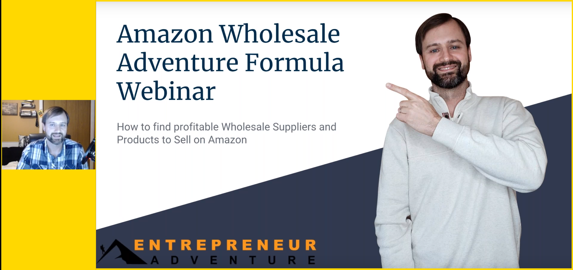 Amazon reverse sourcing wholesale webinar cover